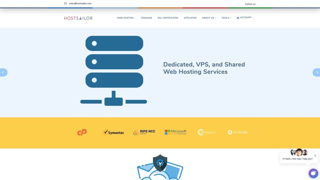 HostSailor Homepage